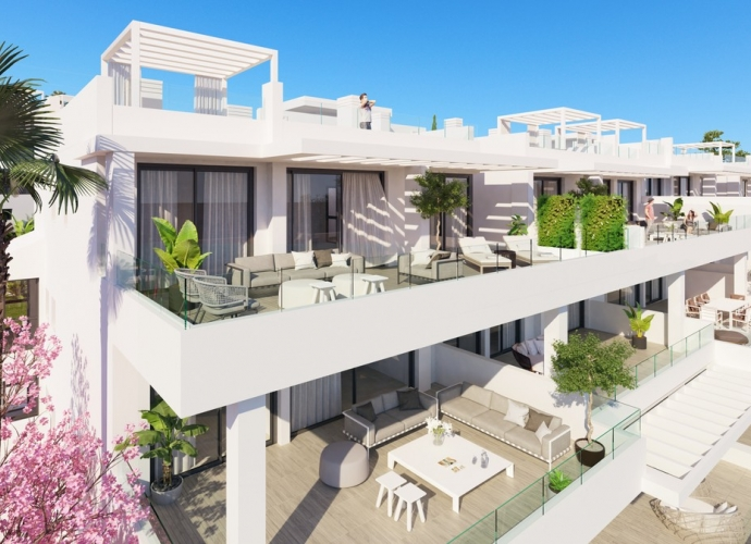 Apartamento Planta Baja en Estepona Apartamentos de nueva construcción  - 1